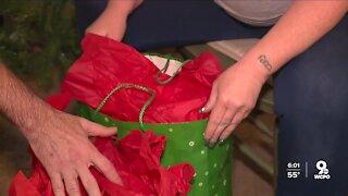 Gun violence victims get holiday gifts