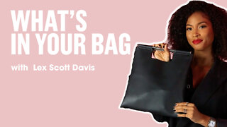 Lex Scott Davis Shows Us What's In Her Bag | What's In Your Bag