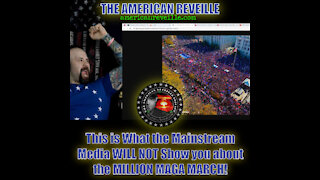This is What the Mainstream Media WON'T Show you about the MILLION MAGA MARCH! Part 1