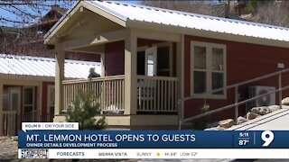 Mt. Lemmon Hotel welcomes first guests