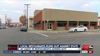 Local Restaurants Filing Suit