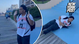 Viral video shows cops tase teen for vaping on Maryland boardwalk
