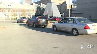 Curbside voting in Kansas City, Missouri