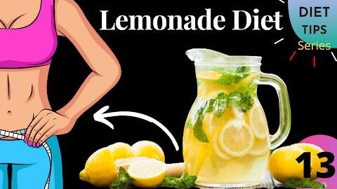 Lemonade Diet   Lemonade Diet For Weight Loss   Diet Tips Series   Video no-13   Health Zone