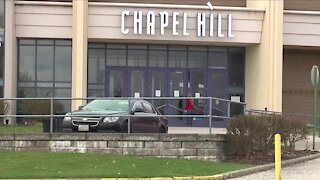 Chapel Hill Mall vaccination site in holding pattern