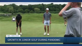 Wisconsin sees increase in junior golf players
