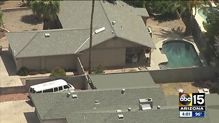 Glendale three-month-old dies after falling into pool