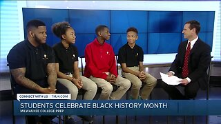 Students at Milwaukee College Prep release music video to celebrate Black History Month