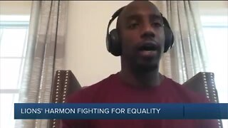 Lions safety Duron Harmon says the team is having important social justice conversations