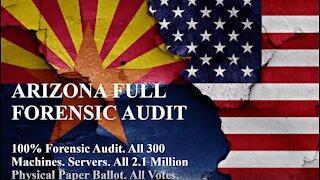 Arizona Forensic Audit - 100% Paper Ballots, Machines. Fly Jovan Hutton Pulitzer to Arizona!