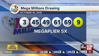 Mega Millions lottery jackpot now $868 million
