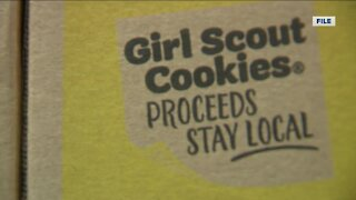 Local Girl Scouts see a drop in sales this spring but don't have stockpiles of cookies leftover