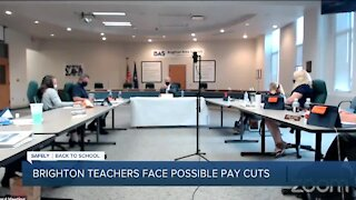 Teachers concerned about possible pay cuts in Brighton Area Schools