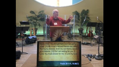 Worship service 3-7-21