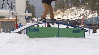 Bogus Basin officially opens for ski season thanks to their snow making machines