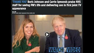 Boris Johnson and Carrie Symonds Troubling Reverse Speech Connected to Covid Lock Downs