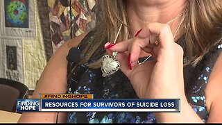 FINDING HOPE: Woman honors late daughter through advocacy.