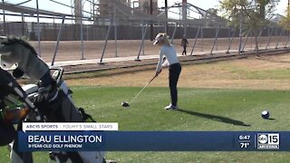 Small Stars: Hitting the golf course with Beau Ellington