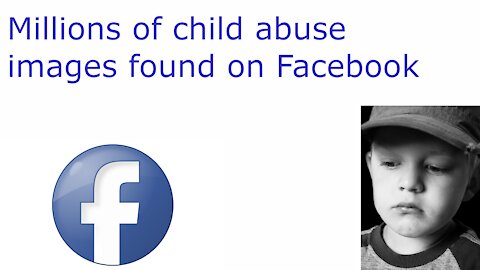 Sexual abuse images of kids on Facebook