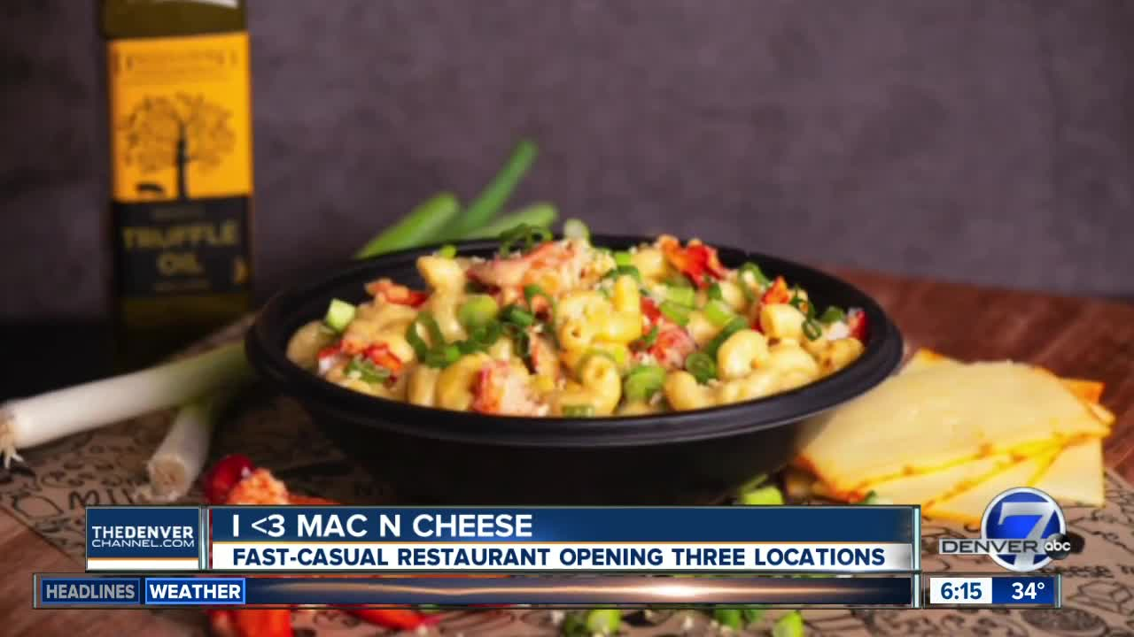 Build-your-own macaroni and cheese restaurant coming to downtown Denver, Boulder, Stapleton