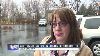 #STATEOF208: Motels say they're seeing an increase in locals seeking refuge