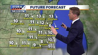 Clouds clear for sunshine this afternoon