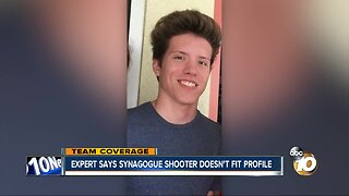 Expert says synagogue shooter doesn't fit profile