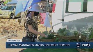 Hawaii extends mask mandate