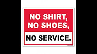 Debunking masks versus no shirt no service