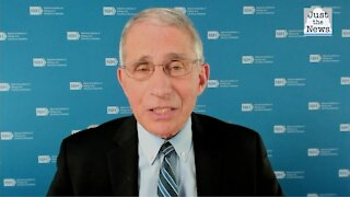 Fauci says vaccine help is coming soon