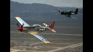 Start Up P-51 D