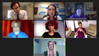Panelists discuss topics facing community