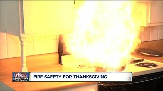 Fire safety tips for Thanksgiving