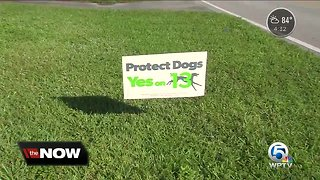 Signs taken from animal shelter property