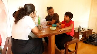 Indian Families Isolate During COVID Surge