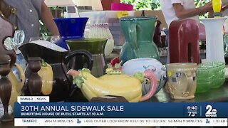 30th annual Sidewalk Sale at The Clearing House