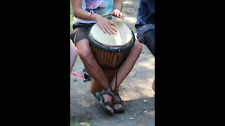 Relaxing Drums with Instrumental Background Music