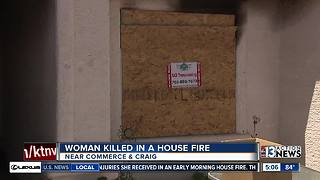 Neighbor talks about woman killed in house fire