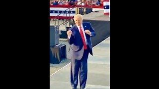 Dancing Trump