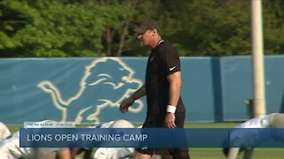Campbell says he didn't sleep before first Lions camp practice