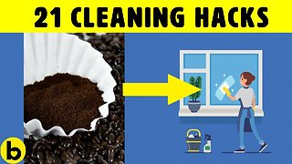 21 Amazing Home Cleaning Hacks