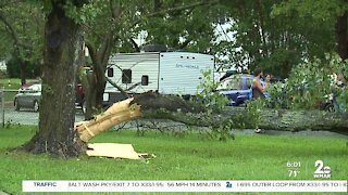 Tornado reported in Edgewater damages homes, knocks down trees and power lines