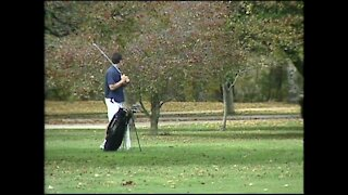 Golfing Grant Park on a beautiful fall day (10/20/03)