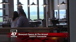 Capital Region International Airport opens Capital Brewport