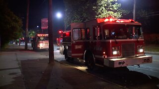Woodhill multi-story apartment fire