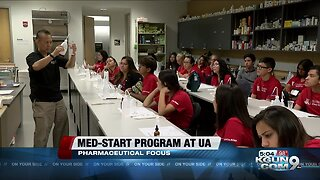 High school students from Arizona participate in first-responder program