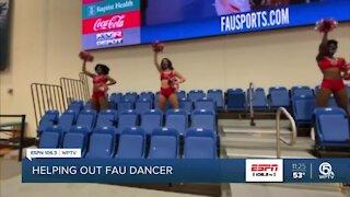 Community rallies around FAU dancer
