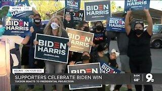 Reid Park Biden celebration