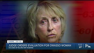 Judge Orders Evaluation For Owasso Woman Accused Of Killing Her Husband
