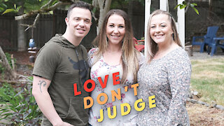 My Wife Realised She's Bi - Now We Share A Girlfriend | LOVE DON'T JUDGE